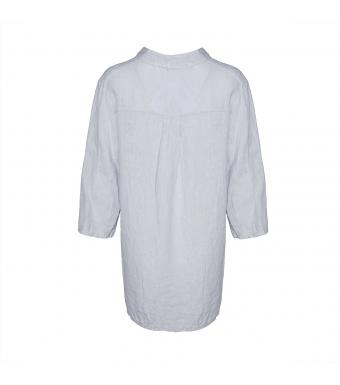 Tiffany Linneskjorta, 17661, Pearl Grey