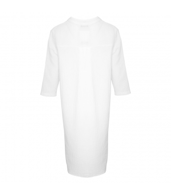 Tiffany Skjortklänning 17690 Double Cotton Vit