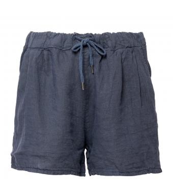 Tiffany 17691 Shorts Linen, Denim Blue