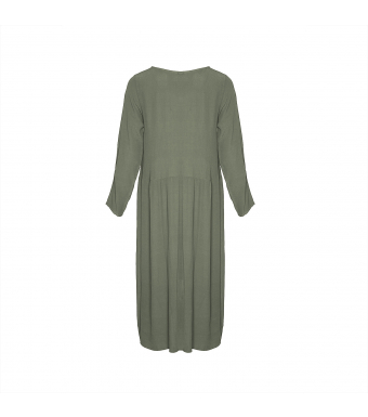 181016 Long Dress, Army