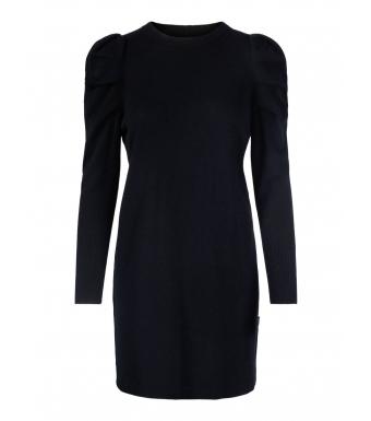 Ella & il Alberte Wool Dress, Black