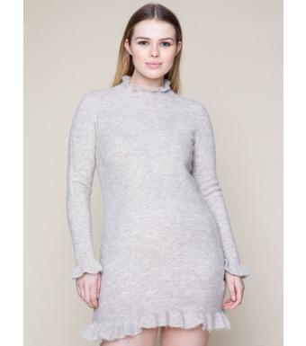 Ella & il Tahini Alpaca Dress, Almond