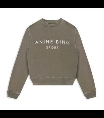 Anine Bing Evan Sweatshirt S-08-5188, Olive