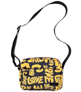Ganni A3561 Festival Bag Seasonal Recycled Tech, 313 Spectra Yellow