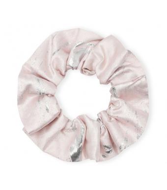 Ganni A3716 Scrunchie Shiny Jaquard, 500 Pale Lilac