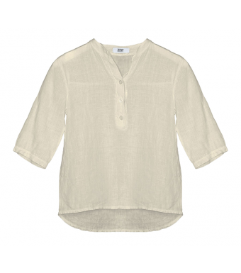Tiffany 17661 Mini Shirt Linen, Light Beige