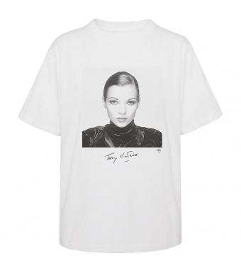 Anine Bing Ida Tee X Kate Moss A-08-2003-002, White