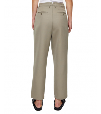 Anine Bing Mycah Trouser A-03-3076-250, Green Khaki