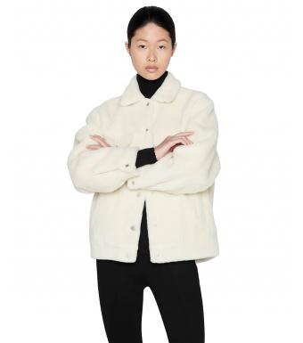 Anine BingRory Jacket A-01-7052, Cream