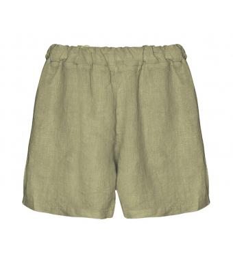 Tiffany 17691 Mini Shorts Linen, Army