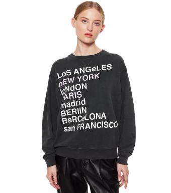 Anine Bing City Love Sweatshirt Kol