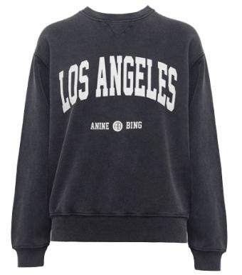 Ramona Los Angeles Sweat A-08-5055, Tvättad Svart