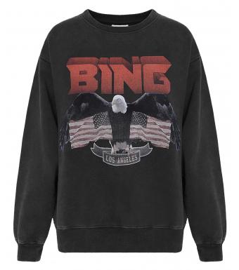 Vintage Bing Sweatshirt, Svart