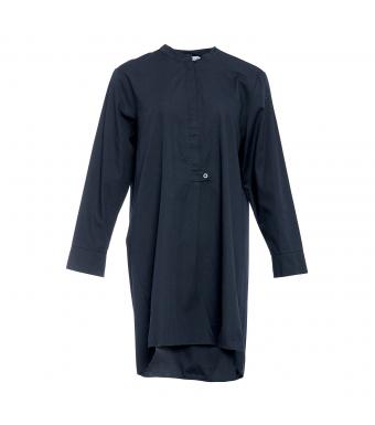 Tiffany Bomuldsskjorte 04020 Blå Forfra