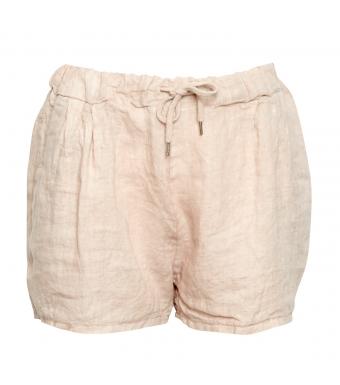Tiffany Shorts Linne 17691, Beige