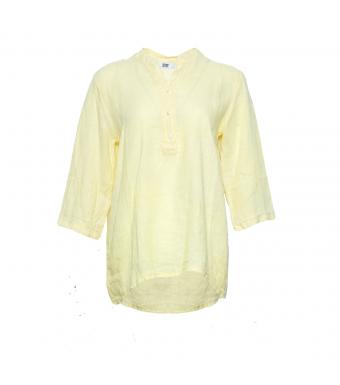 Tiffany 17661 Linneskjorta, Ljusgul