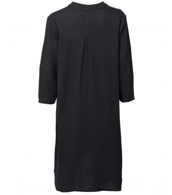 Tiffany 17690 Shirt Dress Double Cotton, Black