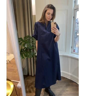Tiffany Bomullskjorta Ebbi Poplin Navy