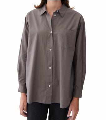 Skall Studio Edgar Shirt, Dark Grey