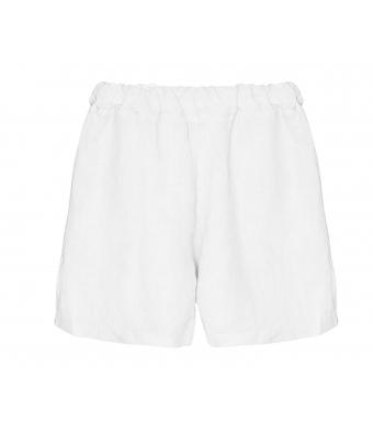 Tiffany 17691 Mini Shorts Linen, White