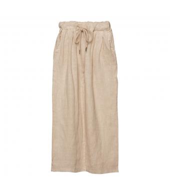 Tiffany 18870 Linen Pants, Light Beige
