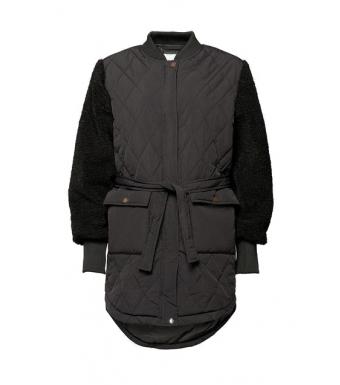 Noella Esme Pile Jacket Solid, Black