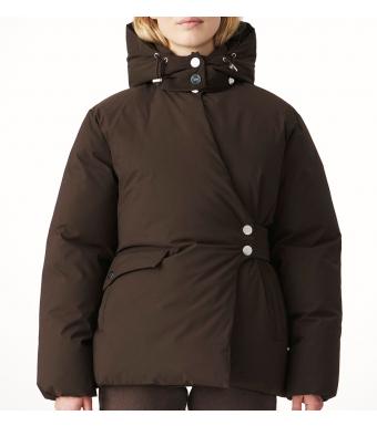 Ganni F6266 Jacket Soft Tech, 897 Mole