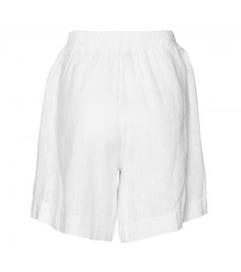 Tiffany Tracy Shorts Linen, White