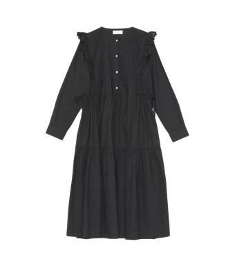 Skall Studio Holly Shirt Dress, Black