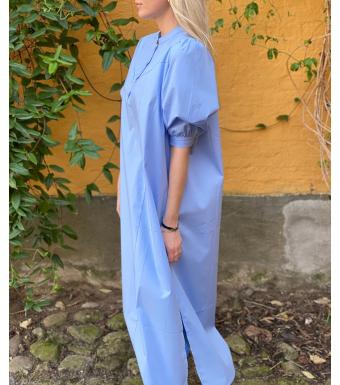 Tiffany Bomullskjorta Ebbi Poplin Light Blue
