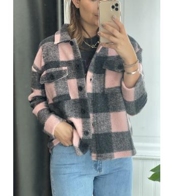 Tiffany Jacka By3278 Jacket Rosa/Grå