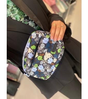 Ganni A3562 Festival Bag Seasonal Recycled Tech, Multicolor