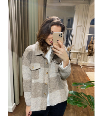 Tiffany By3278 Jacket Wool, Nature Brown/beige