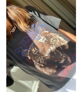 Anine Bing Tiger T-Shirt, Svart