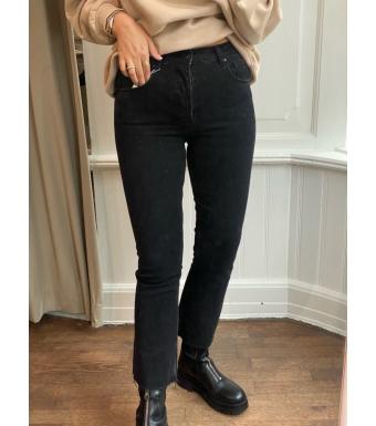 Anine Bing Lara Jeans A-06-0089, Black Tie