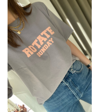 Rotate Sunday Aster T-shirt, Cloudburst