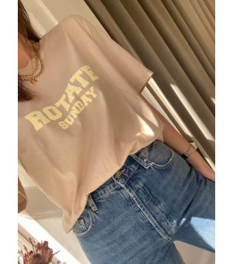 Rotate Sunday Aster T-shirt, Humus