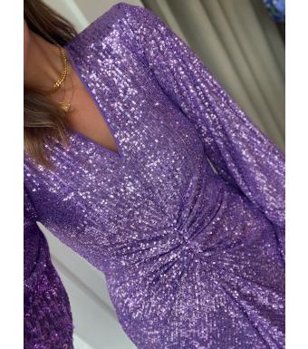 Rotate Sirin Dress Rt619, Dewberry