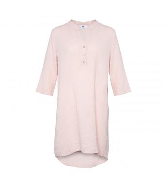 Tiffany 17690 Bomuldsskjortekjole Rose Forfra