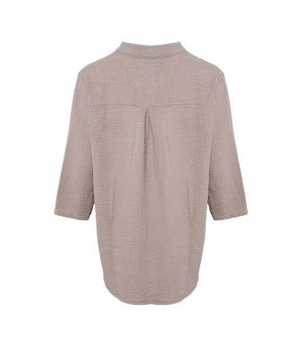 Tiffany Skjorte 17661 Double Cotton Nougat