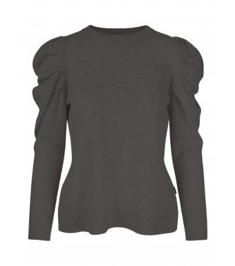 Ella & il Luna Wool Sweater, Black