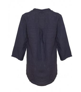Tiffany Linneskjorta 18973 Blue Navy