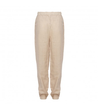 Tiffany Nimm Pant Linen, Light Beige
