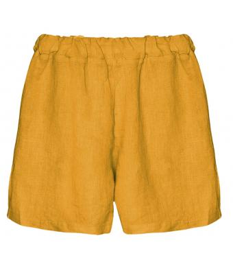 Tiffany 17691 Mini Shorts Linen, Senape Yellow