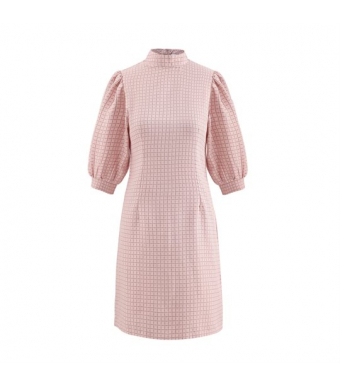 Noella Vix Dress Cotton, Rose Check
