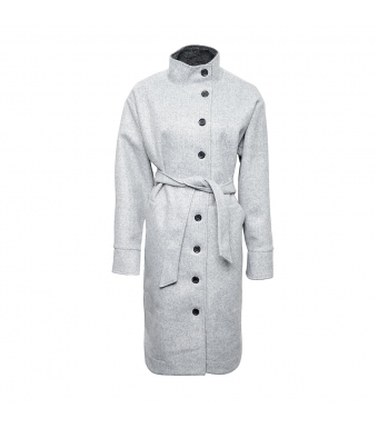 Tiffany Zaza Coat, Grey Melange