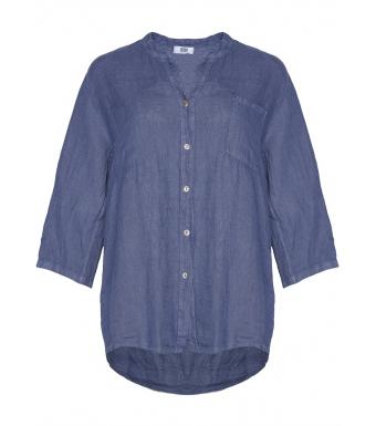 Tiffany Linneskjorta 18973 Denim Blue
