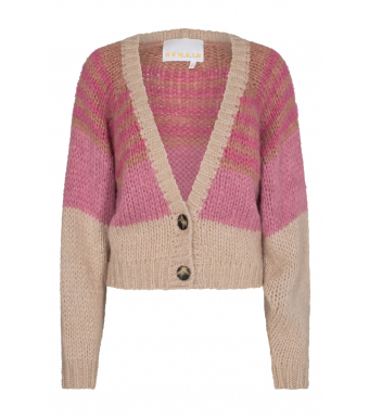 Remain Esther Cardigan Rm554, Pink Lavender Comb