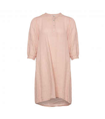Tiffany Ebbi Short Dress Linen, Rose