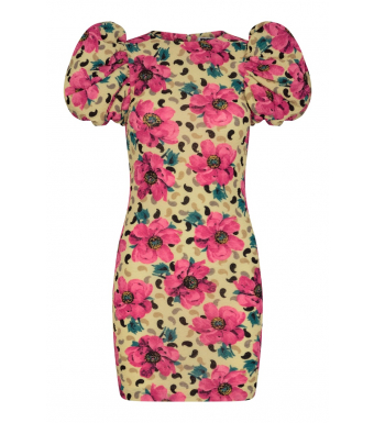 Rotate Ruby Dress Rt299, Mellow Yellow Comb